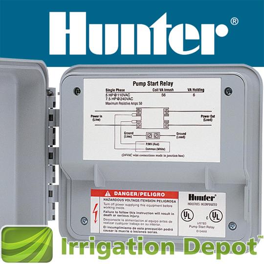 Hunter Pump Start Relay Irrigation Depot