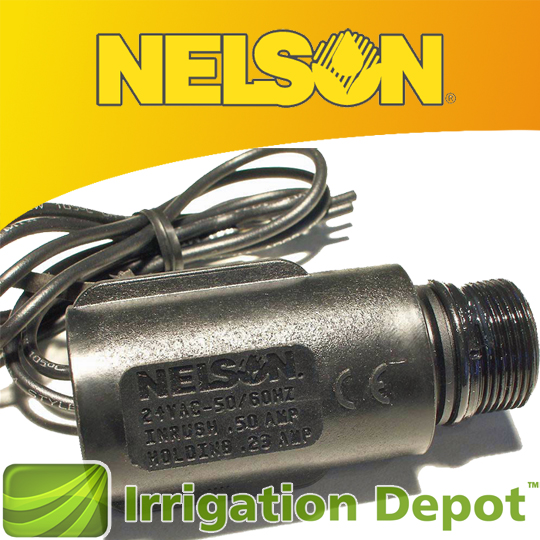 Replacement Solenoid For Nelson Valves Irrigation Depot