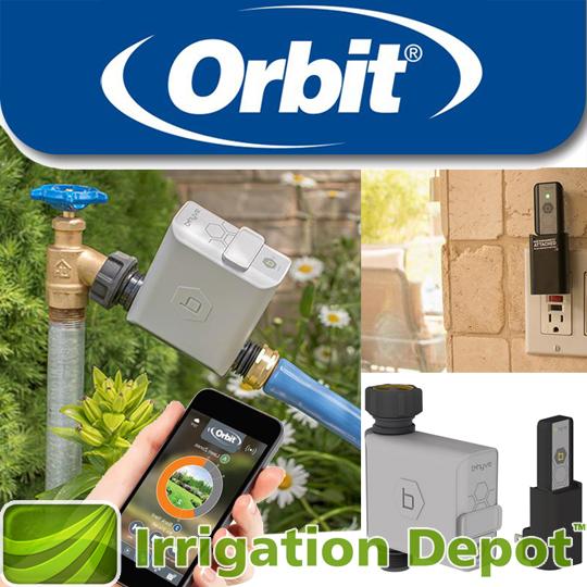 Orbit 174 B Hyve Smart Hose Faucet Timer With Wi Fi Hub
