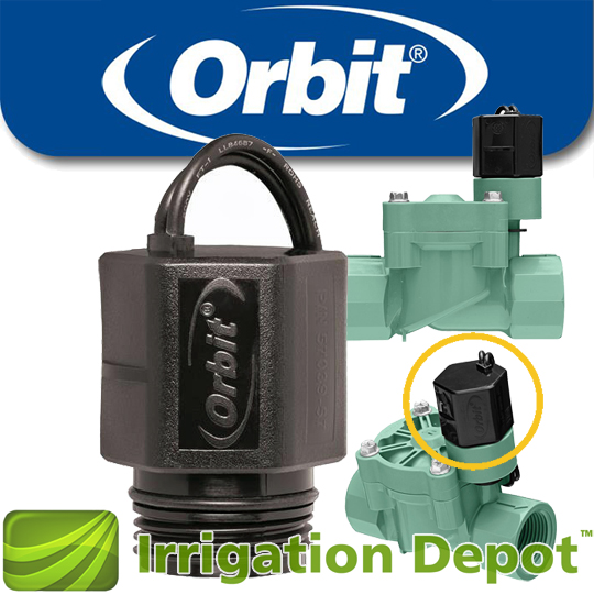 Replacement Solenoid for Orbit® Valves 57280 and 57281